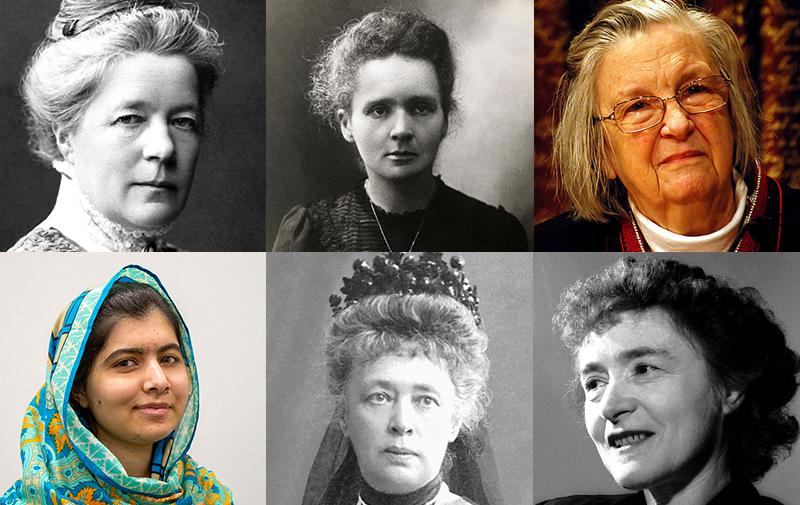 Resultado de imagen de women nobel prize